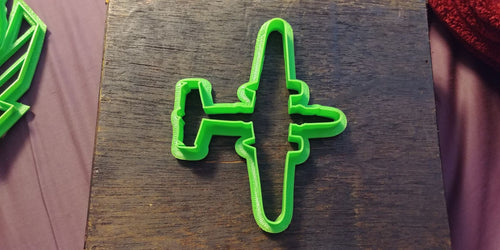3D Printed Cookie Cutter Inspired by USAF B-25 Mitchell