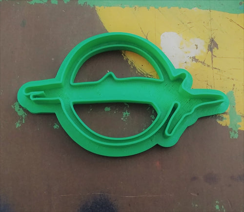 3D Printed Cookie Cutter Inspired by Plymouth Barracuda Emblem