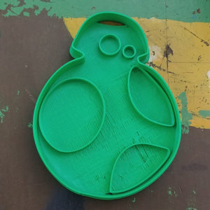 3D Printed Cookie Cutter Inspired by Star Wars BB-8 Droid