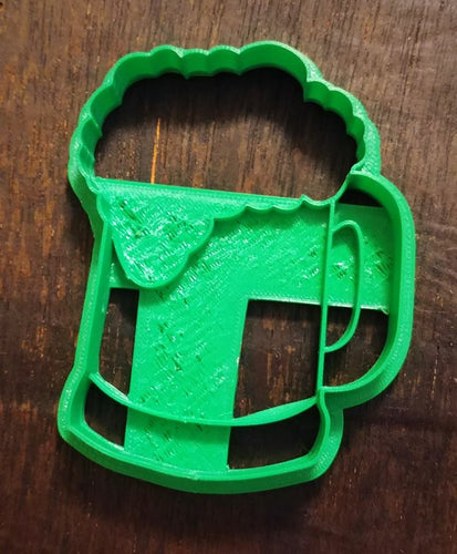 3D Printed Beer Mug Cookie Cutter
