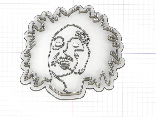 Printed Cookie Cutter Inspired by Beetlejuice