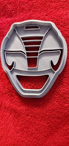 3D Printed Cookie Cutter Inspired by Black MMPR Ranger