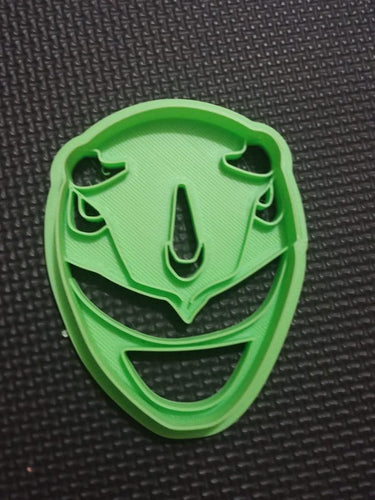3D Printed Cookie Cutter Inspired by Blue MMPR Ranger