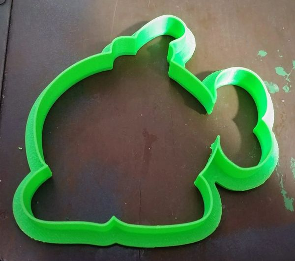 3D Printed Cookie Cutter Inspired by Super Mario Bros. Bob-Om