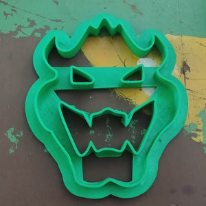 3D Printed Cookie Cutter Inspired by Super Mario King Bowser