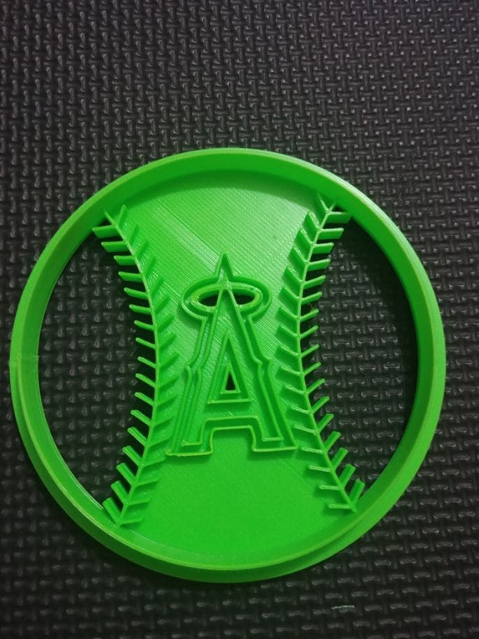 3D Printed Cookie Cutter Inspired by the California Angels