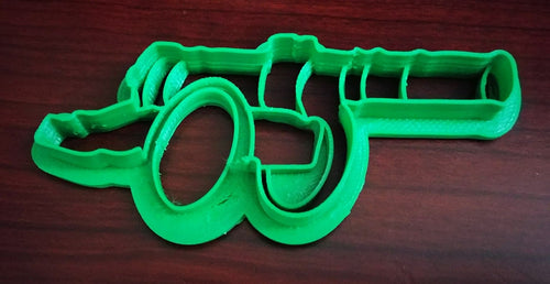 3D Printed Cannon Cookie Cutter