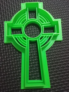 3D Printed Celtic Cross Cookie Cutter