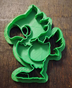 3D Printed Cookie Cutter Inspired by Final Fantasy Chocobo