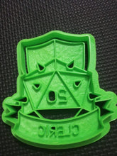 Load image into Gallery viewer, 3D Printed DnD Cleric Cookie Cutter