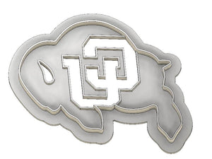 3D Printed Cookie Cutter Inspired by CU Buffalo