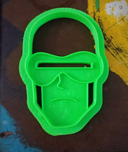 3D Printed Cookie Cutter Inspired by X-Men Vintage Cyclops