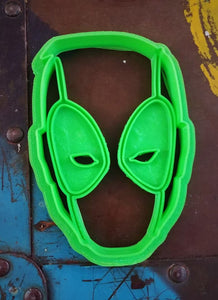 3D Printed Cookie Cutter Inspired by Marvel's Deadpool