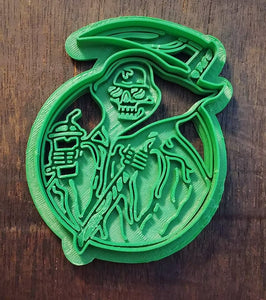 3D Printed Cookie Cutter Death Drinks Pumpkin Spice
