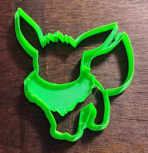 3D Printed Cookie Cutter  Inspired by Pokemon Eevee