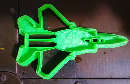 3D Printed Cookie Cutter Inspired by USAF F-15 Eagle with Detail
