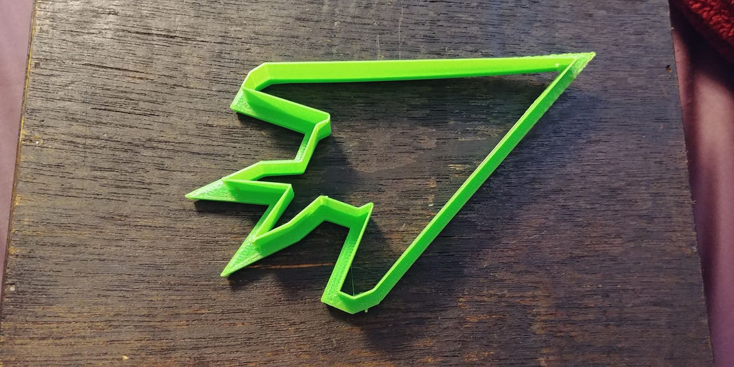 3D Printed Cookie Cutter Inspired by USAF F-117 Nighthawk