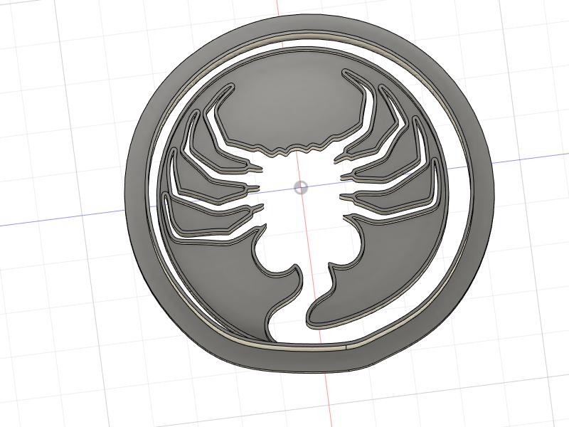 3D Printed Cookie Cutter Inspired by Aliens Facehugger