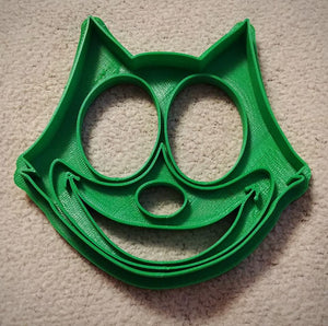 3D Printed Cookie Cutter Inspired by Felix the Cat Head