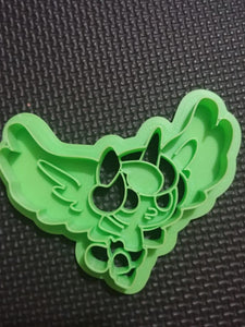 3D Printed Cookie Cutter Inspired by MLP Flurryheart