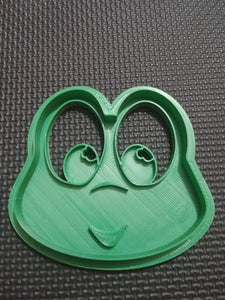 3D Printed Frog Face Cookie Cutter