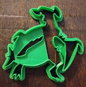 3D Printed Cookie Cutter Inspired by Pokemon Garchomp