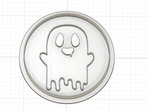 3D Printed Ghost Cookie Cutter