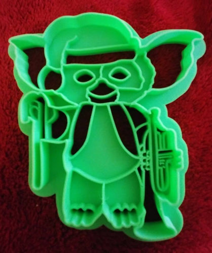 3D Printed Cookie Cutter Inspired by Gremlins Gizmo in Santa Hat