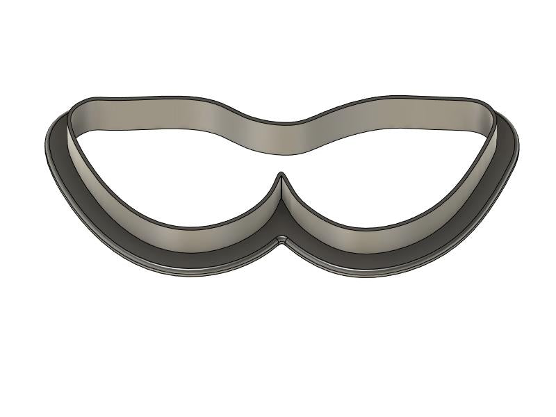 3D Printed Glasses Cookie Cutter