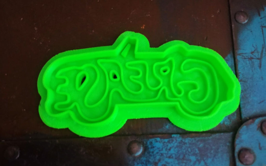 3D Printed Cookie Cutter Inspired by the Grease Logo