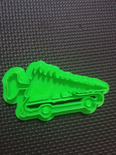 3D Printed Cookie Cutter Inspired by the National Lampoons Christmas Tree