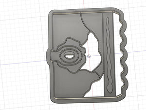 Set of 4 3D Printed  Cookie Cutters Inspired by Hocus Pocus