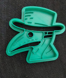 3D Printed Plague Doctor Cookie Cutter
