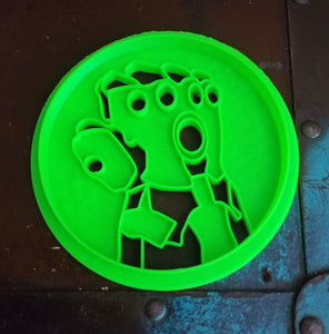 3D Printed Cookie Cutter Inspired by the Infinity Gauntlet