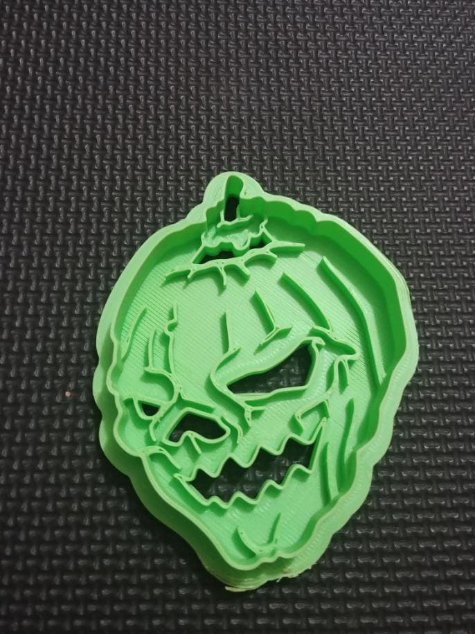 3D Printed Jack O Lantern Cookie Cutter