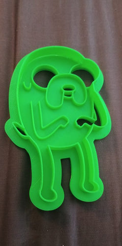 3D Printed Cookie Cutter Inspired by Adventure Time Jake the Dog