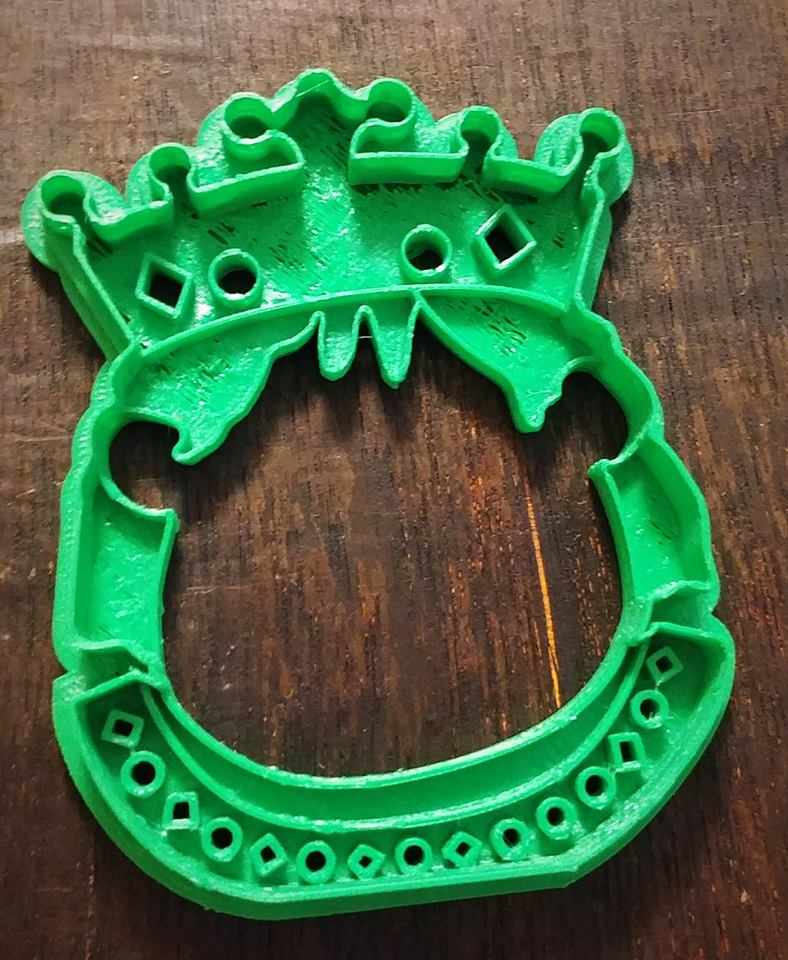 Set of 6 Renaissance Themed Cookie Cutters