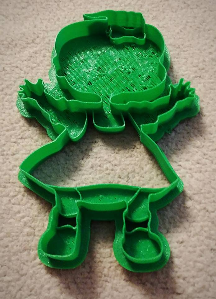 3D Printed Cookie Cutter Inspired by Nickelodeons Rugrats Lill Twin