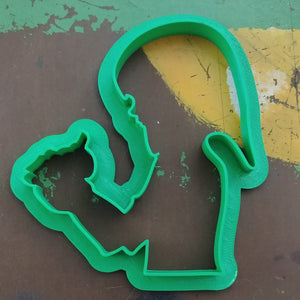 3D Printed Cookie Cutter Inspired by Legend of Zelda Link with Orcarina