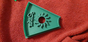 3D Printed Litha Holiday Cookie Cutter