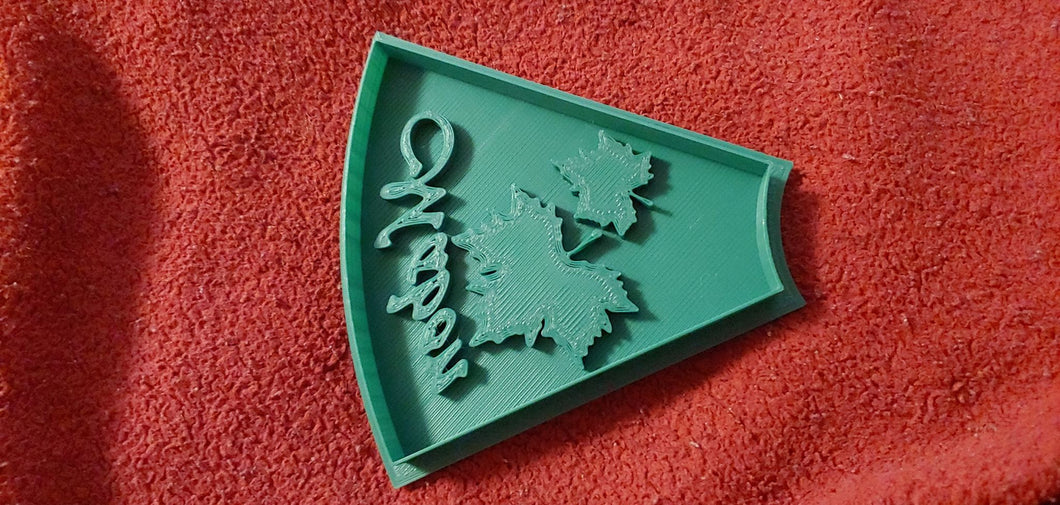 3D Printed Mabon Holiday Cookie Cutter
