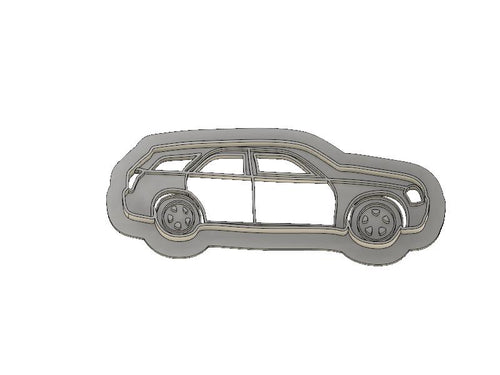 3D Printed Cookie Cutter Inspired by Dodge Magnum