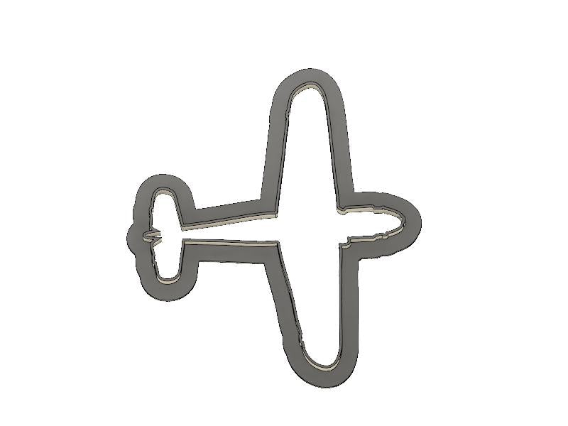 3D Printed Messershmidt Airplane Cookie Cutter