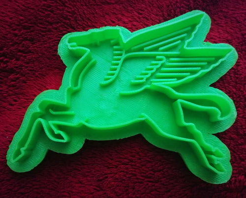 3D Printed Cookie Cutter Inspired by Mobil Gas Pegasus