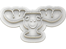 Load image into Gallery viewer, 3D Printed Cookie Cutter Inspired by the National Lampoons Christmas Moose Mug