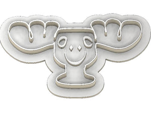 3D Printed Cookie Cutter Inspired by the National Lampoons Christmas Moose Mug