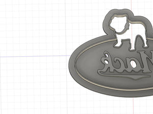 3D Printed Cookie Cutter Inspired by Older Mack Truck Logo
