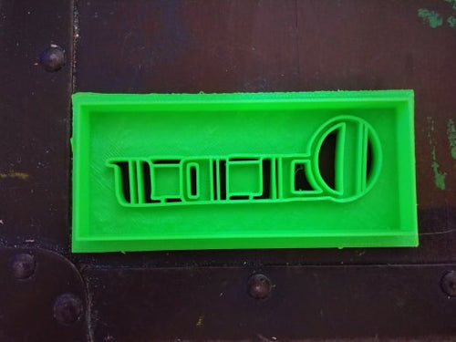 3D Printed Cookie Cutter Inspired by 1940 Olds Grill Emblem