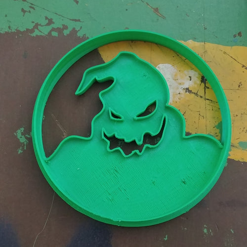 3D Printed Cookie Cutter Inspired Nightmare Before Christmas Oogey Boogey Moon