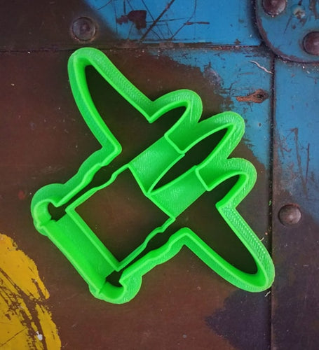 3D Printed Cookie Cutter Inspired by USAF P-38 Lightning